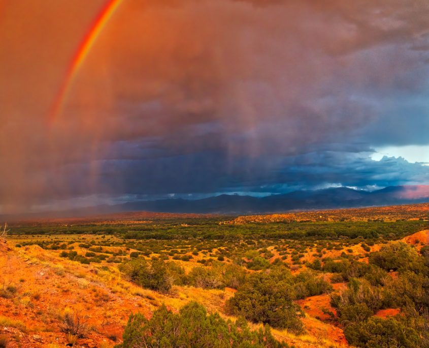 Rainbow photographs and the science behind them